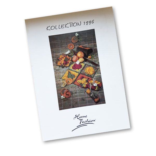 1996 - Erster Home Fashion®-Katalog